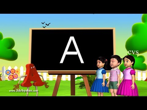 Alphabet songs | Phonics Songs | ABC Song for children - 3D...