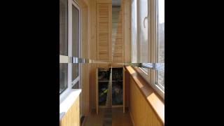 Шкаф на балкон видео.