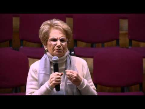 Giorno della memoria 2012 - Liliana Segre