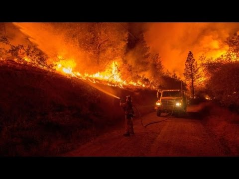 California wildfires Governor declares state of emergency