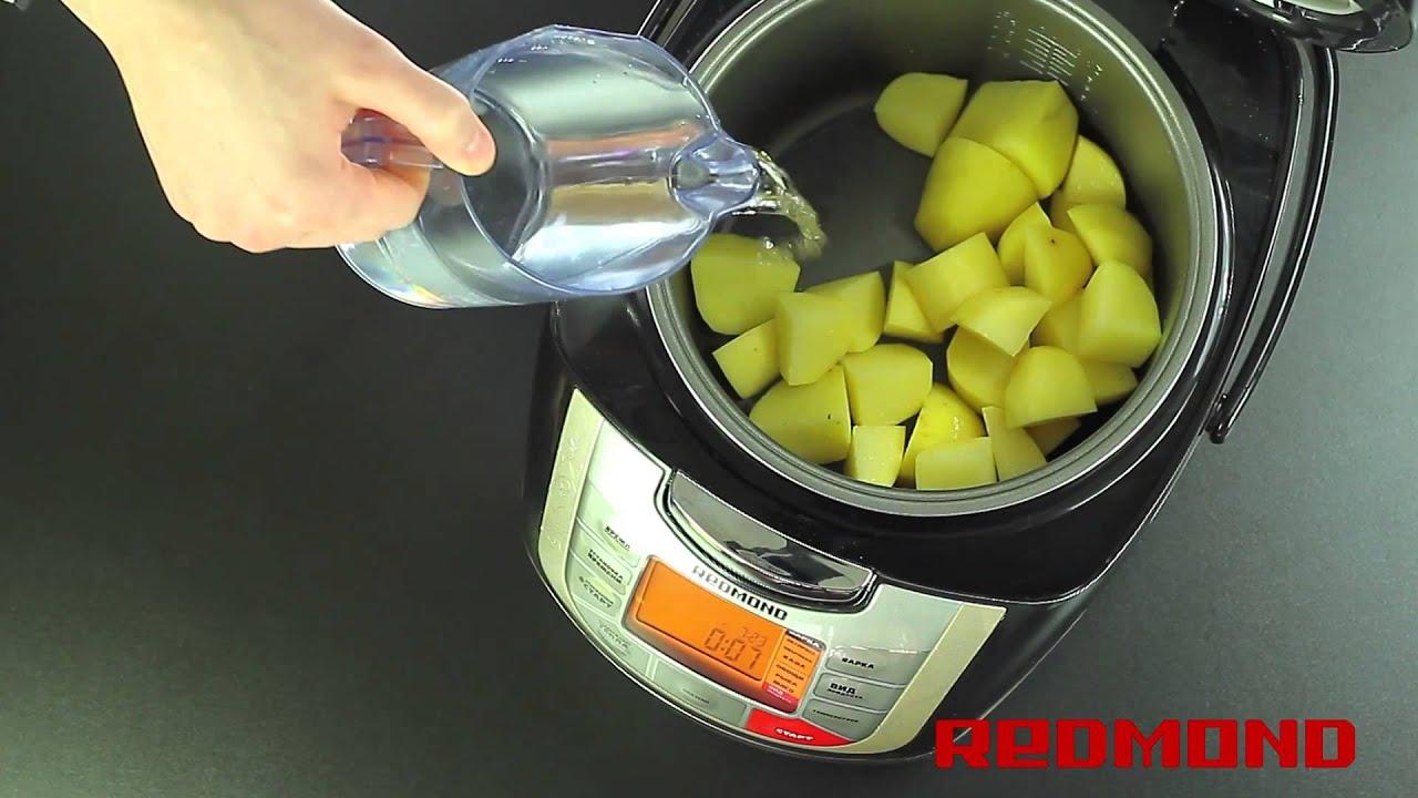 Геркулесовая каша в мультиварке редмонд на молоке рецепт с пошагово