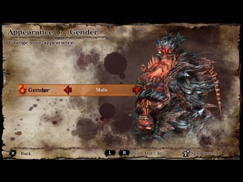 PS Vita - Soul Sacrifice Chaos Form v2 1/99 - Male & Female