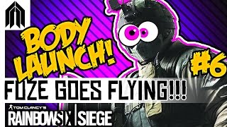 Rainbow Six: Siege Funny Moments! - Fuze Corpse Launch, Hilarious C4, Frost Trap & Friendly Flashes!