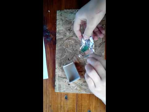 Как сделать серу что на спичке
