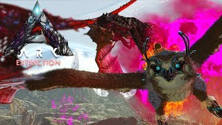 ACHTERVOLGD DOOR LEVEL 300+ CORRUPTED WYVERNS!? - ARK Extinction #10