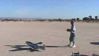 P-51 Mustang 72 inch Electric Maiden flight
