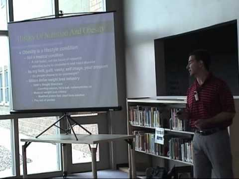 Dr Gerber The Science Of Obesity http://denversdietdoctor Cresthill Middle School Part 1 Of 4