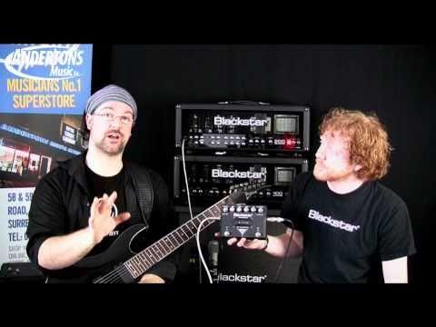 Blackstar HT Blackfire Gus G Signature Drive Pedal - Limited Edition