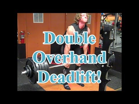 Double Overhand Deadlift & Olympic Weight Lifting Training Image 1