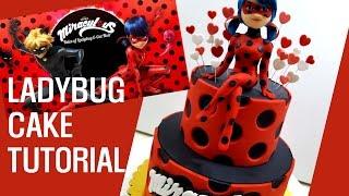 ::sugarcraft:: ladybug cake tutorial 레이디버그 케이크 만들기