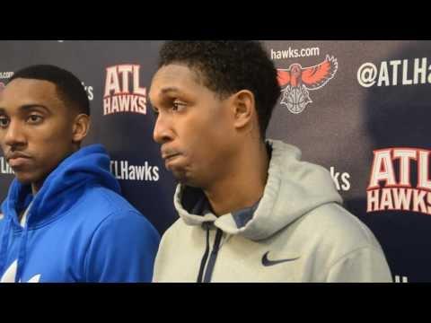 Auchotspot.com presents: Atlanta Hawks vs Cleveland Cavaliers pregame interviews