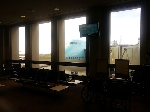 Korean air 053 RKSI-Honolulu on vatsim,liveatc,landing with passenger view,fsx,pmdg 777