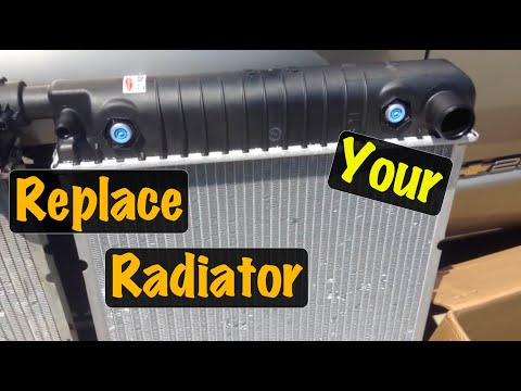 1995 96 97 98 99 GM Truck V8 Radiator Replacement (Chevy & GMC)