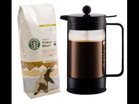 Starbucks coffee press