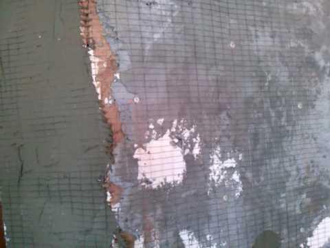 Как крепить металлическую сетку под плитку