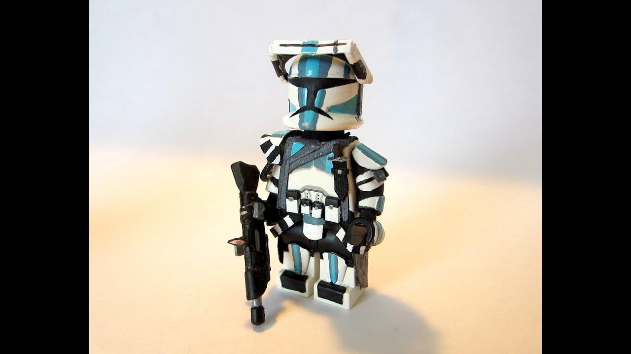 Custom Lego Star Wars Clone Commandos Star Wars Clone Commando