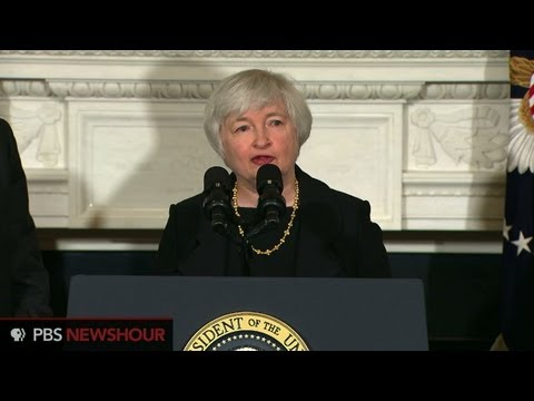President Obama nominates Janet Yellen to succeed Bernanke as Fed chairman