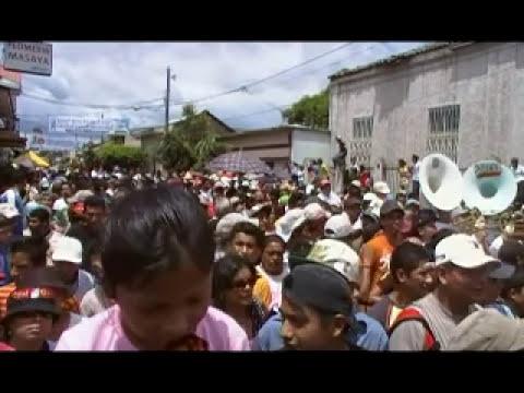 Masaya,  Nicaragua, Procesion san Jeronimo y torovenado Rigo Taleno.