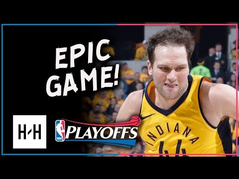 Bojan Bogdanovic Full Game 3 Highlights Pacers vs Cavaliers 2018 Playoffs - 30 Points, DAGGER!