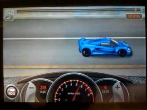 Drag Racing 10.895 TUNE level 10 1/2 Hennessey Venom gt