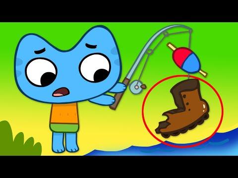 Котики, вперед! - Клёвое место - серия 52 - развивающие мультфильмы для детей