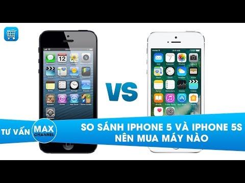 So sánh, Đánh giá iPhone 5 và 5s: nên mua điện thoại nào?