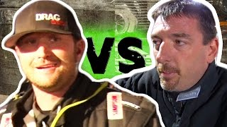 Daddy Dave PROCHARGED Goliath 2.0 vs Kye Kelley SHOCKER - Street Outlaws GRUDGE RACE!
