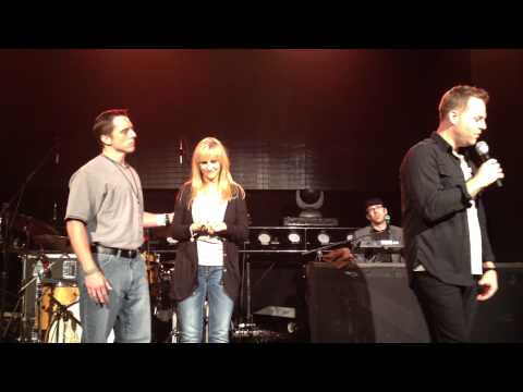 "Matthew West- ""Forgiveness"" Story LIVE with Surprise Guest Renee & Eric- Bradenton, FL 10-24-12"