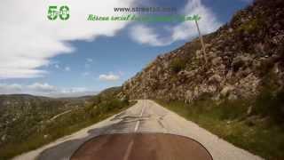 Roadbook moto Lozère : Lac de Villefort
