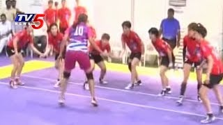 South Korea Vs Telangana Kabaddi Friendly Match ( Women ) | Hyderabad