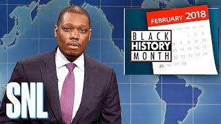 Weekend Update on Black History Month - SNL