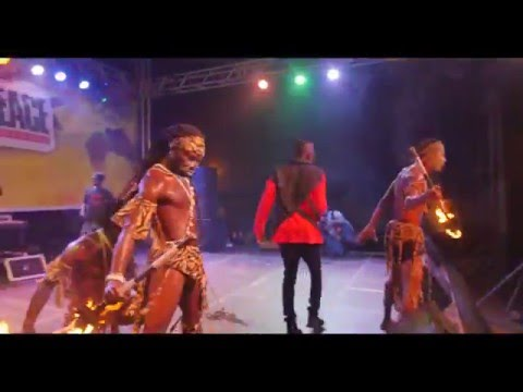 Saani performs at the Battle4Peace Concert reggae music videos 2016