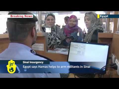 Egypt reopens Gaza border despite Cairo concerns over Hamas role in Sinai Islamist insurgency