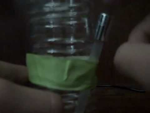 How to make a water bottle bong!! Simple!!