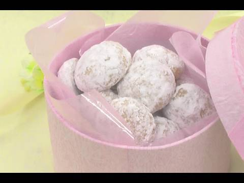 【甘味王のレシピ】スノーボールクッキー