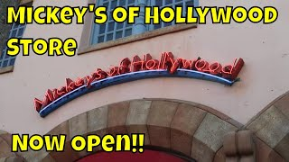 New Mickey's of Hollywood Store Open at Hollywood Studios!! - Walt Disney World 2019