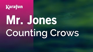 Download Lagu Karaoke Mr. Jones - Counting Crows * Gratis STAFABAND