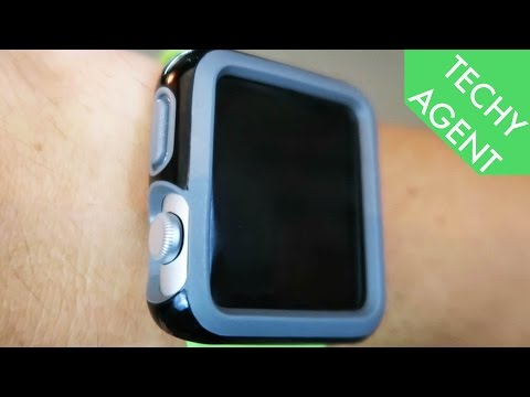 (60 SECOND REVIEW) Apple Watch Case - Speck Candyshell Fit