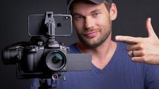 iPhone X 4k Video VS Professional Video Camera