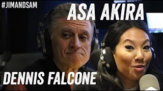Asa Akira & Dennis Falcone - BDSM, Sex Work, Crying, more - Jim Norton & Sam Roberts