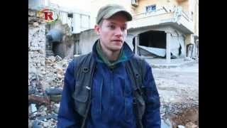 Swedish Journalist Joakim Medin in Kobane