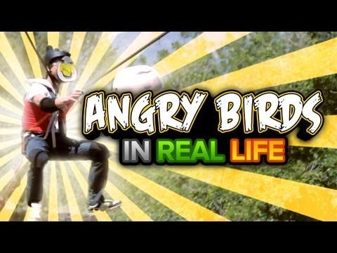 Game Over: Angry Birds In Real Life (Feat. Pete Wentz and Spencer Peterson)