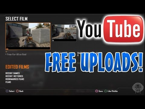 How To Upload Black Ops 2 Theater HD Gameplay to YouTube FREE...