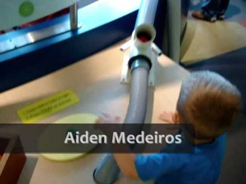 (( Connecticut Science Center )) Aiden and David Medeiros