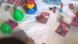 PART 2 pop Heart playdoh  surprise  egg blind bag