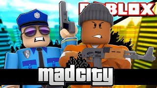 Becoming the #1 CRIMINAL in ROBLOX MAD CITY