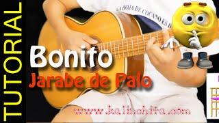Como tocar Bonito de Jarabe de Palo en GUitarra acustica