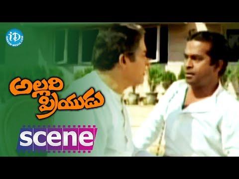 Allari Priyudu Movie Scenes - Brahmanandam & Rao Gopal Rao Comedy...