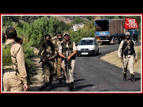Search On For Four Missing Police Officers In Kashmir's Shopian | Breaking News