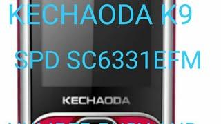 KECHAODA K9 NEW SPD SC 6531EFM  BLACKLIST PROBLUM AND LOCK PROBLUM SOLVED